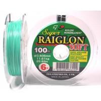 Linha monofilamento SUPER RAIGLON SOFT - 0,33 mm - 18,3 Lbs