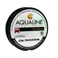 Linha monofilamento Aqualine Excellence Verde 0,40 mm - 26,4 Lb - carretéis interligados