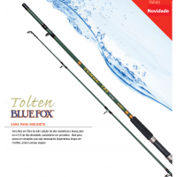 Vara molinete Bluefox TOLTEN - 2,10 metros - Imported by RAPALA