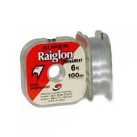 Linha monofilamento SUPER RAIGLON TOURNAMENT - 0,23 mm - 13 Lbs - carretéis interligados com 100 metros cada