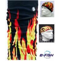 Máscara de Proteção Solar EcoHead - Fogo