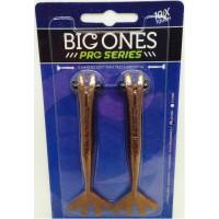 Camarão Artificial Big Ones Pro Series cor 01 (marrom) - 12 cm