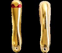 Isca artificial MicroJig Keep Fishing Trickizinho - cor Dourado - 12G