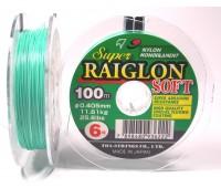 Linha monofilamento SUPER RAIGLON SOFT - 0,52 mm - 42,6 Lbs