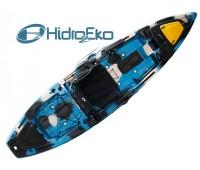 Caiaque Hidro 2 MAKO 110 Cor Camuflado Azul - Pró