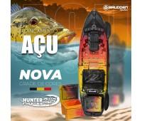 Caiaque Brudden Hunter Fishing 285 cor Açu + Cooler
