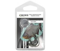 Anzol Crown Iseama Black Tamanho 10 - Cartela c/ 10UN