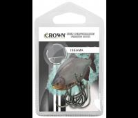Anzol Crown Iseama Black Tamanho 12 - Cartela c/ 10UN