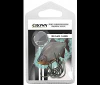 Anzol Crown Iseama Sure Black Tamanho 08 - Cartela c/ 10UN
