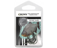 Anzol Crown Iseama Sure Black Tamanho 20 - Cartela c/ 10UN