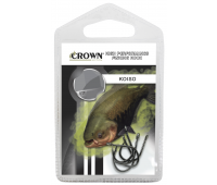 Anzol Crown Koiso Black Tamanho 20 - Cartela c/ 5UN