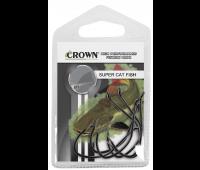 Anzol Crown Super Cat Fish Black Tamanho 8/0 - Cartela c/ 06UN