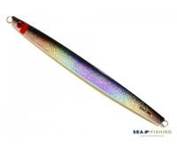 Isca artificial metal Jig Sea Fishing modelo Apuã 300g cor Preto - Glow