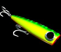 Isca Popper Borboleta modelo Barracudinha cor 09 - 26 g - 110 mm