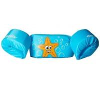 Colete Coleman Flutuante Infantil - Cor Starfish - Até 22kg