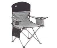 Cadeira Coleman Dobrável com Cooler Cinza