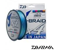 Linha multifilamento Daiwa J-Braid 4X - 0,36 mm - 65 lbs - 300 m - Multicolor