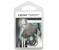 Anzol Crown Chinu Black Tamanho 03 - Cartela c/ 10UN