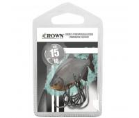 Anzol Crown Chinu Sure Black Tamanho 07 - Cartela c/ 10UN