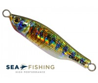 Isca artificial metal Jig Sea Fishing modelo Cigar 150 g cor 023