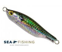 Isca artificial metal Jig Sea Fishing modelo Cigar 80 g cor 025