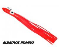 Isca Lulinha ZZ Albatroz - Cor 148 Vermelho - Tamanho 7,6 cm - Pacote 15 unidades