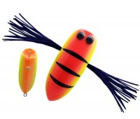 Isca artificial OCL Lures Dragonfly - Cor HT - 5,5cm - 12.5gr