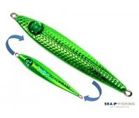 Isca artificial metal Jig Sea Fishing modelo Dusky 40g cor Verde
