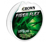 Linha multifilamento Crown Fiber Flex 4X 0,26 mm - 35 lbs - 100 m - Verde