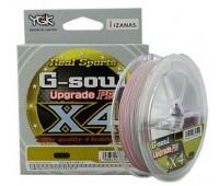 Linha multifilamento YGK G-Soul Upgrade 4X - 0,21 - 25 lbs - 200 m