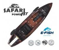 Caiaque Brudden SAFARI Power Jet Cor Brown