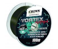 Linha monofilamento Crown Vortex GTX 0,28 - 17Lbs - 100 m