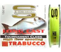 Linha Monofilamento Trabucco Long Cast Salt Water Tournament 0,18 - 4,55kg - 150m - Amarela