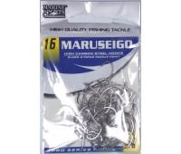 Anzol Marine Sports MARUSEIGO Nickel - Tamanho 16 - cartela c/ 50