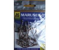 Anzol Marine Sports MARUSEIGO Nickel - Tamanho 26 - cartela c/ 15