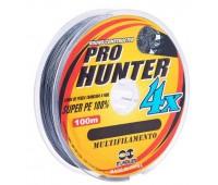 Linha multifilamento Maruri Pro Hunter 4x 0,14 mm - 100 m - Cinza