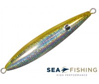 Isca artificial Slow Jig Sea Fishing modelo Rusty 150 g cor Amarelo