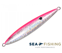 Isca artificial Slow Jig Sea Fishing modelo Rusty 80 g cor Rosa