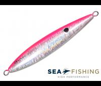 Isca artificial Slow Jig Sea Fishing modelo Rusty 150 g cor Rosa