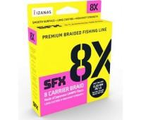 Linha multifilamento Sufix SFX 8X - 0,40mm - 101,2 lbs - 300 m - Multicolor