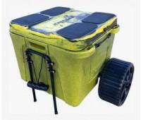 Caiaker Smart Cooler + Carrinho + Cinta - Verde