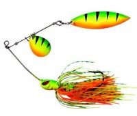 Isca artificial Yara King Spinner - Cor Fire Tiger 11 - 26 g