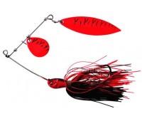 Isca artificial Yara King Spinner - Cor Vermelho 02 - 26 g