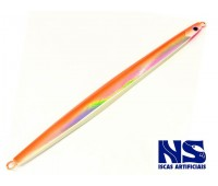 Isca NS Jig Tchulili 310g - Laranja Holográfico com Glow