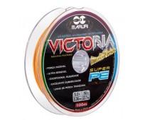 Linha multifilamento Maruri Victoria 8x 0,36 mm - 50lbs - 100 m - Multicolor