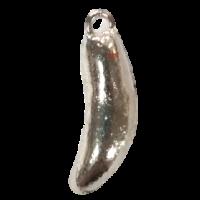 Isca artificial MicroJig Keep Fishing Pimentinha - cor Cromado - 6G