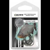 Anzol Crown Iseama Sure Black Tamanho 10 - Cartela c/ 10UN