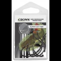 Anzol Crown Super Cat Fish Black Tamanho 4/0 - Cartela c/ 06UN